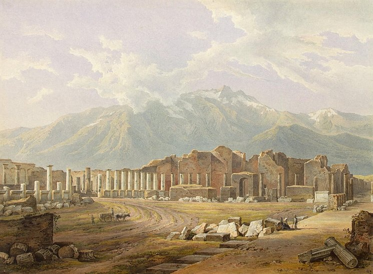history of pompeii Following the prototype of pliny the elder's natural history, various aspects of the  natural history of pompeii are discussed and analyzed by a team of eminent.